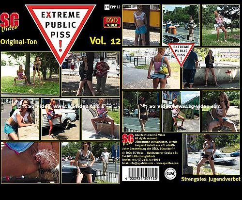 Extreme public piss Vol 12